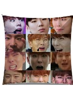 derpy kihyun collage Large Umbrella