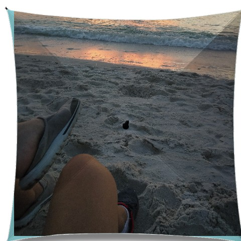 beach and us Medium Umbrella