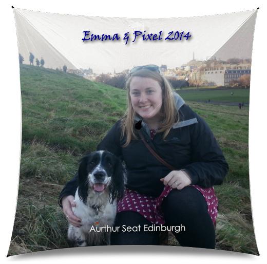 Dog Umbrella, outdoors, Edinburgh,  Medium Umbrella