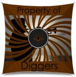 Property of diggers Medium Umbrella