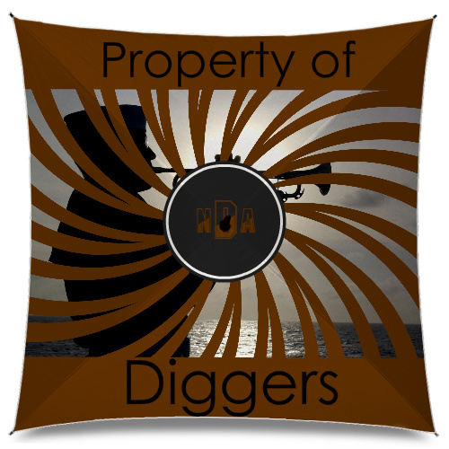 Property of diggers Medium Umbrella